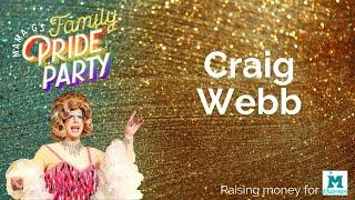 Craig Webb at Mama G's Family Pride Party 2020