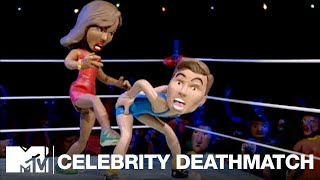 Mariah Carey vs. Jim Carrey   Celebrity Deathmatch