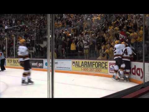 Highlights: Kyle Rau, Gopher Hockey 2011