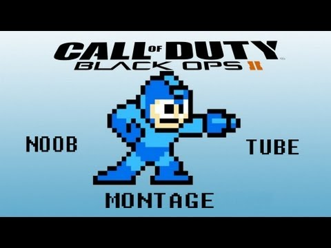 Black Ops 2 Noob Tube Montage (Trickshots/ Rage Reactions/ Direct Impacts)