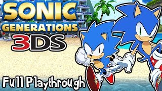 Sonic Generations 3DS | The Third Dimension? (Full Playthrough)