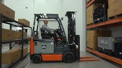 Warehouse Forklifts & Aisle Widths - TOYOTA