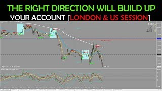 THE RIGHT DIRECTION WILL BUILD UP YOUR ACCOUNT [LONDON & US SESSION]