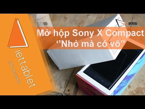 Viettablet| Trên tay nhanh Sony X Compact đầu tiên tại Việt Nam. Nhỏ gọn nhưng hiệu năng cao
