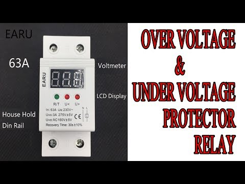 Over Voltage & Under Voltage Protection Relay Urdu/Hindi By Zakria 2017
