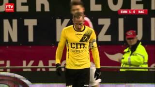 FC Emmen wint met 1-0 van NAC Breda