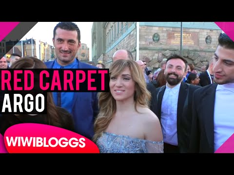 Argo Greece @ Eurovision 2016 red carpet | wiwibloggs