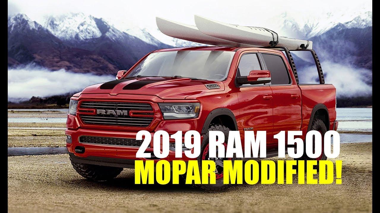 2019 Ram 1500 Mopar Modified Goodness! - Pickup Truck +SUV Talk