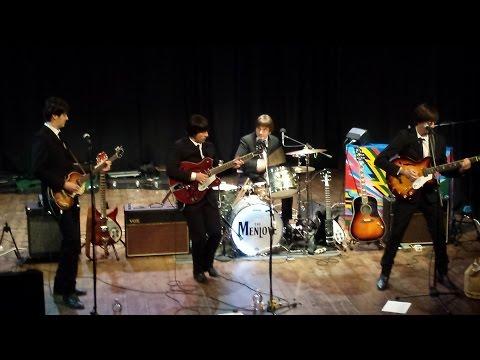 The Menlove Beatles tribute Ob La Di Ob La Da Live Teatro Malatesta Montefiore Conca  2015 Nov the 2