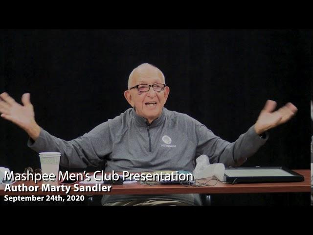 Mens Club guest speaker- Marty Sandler