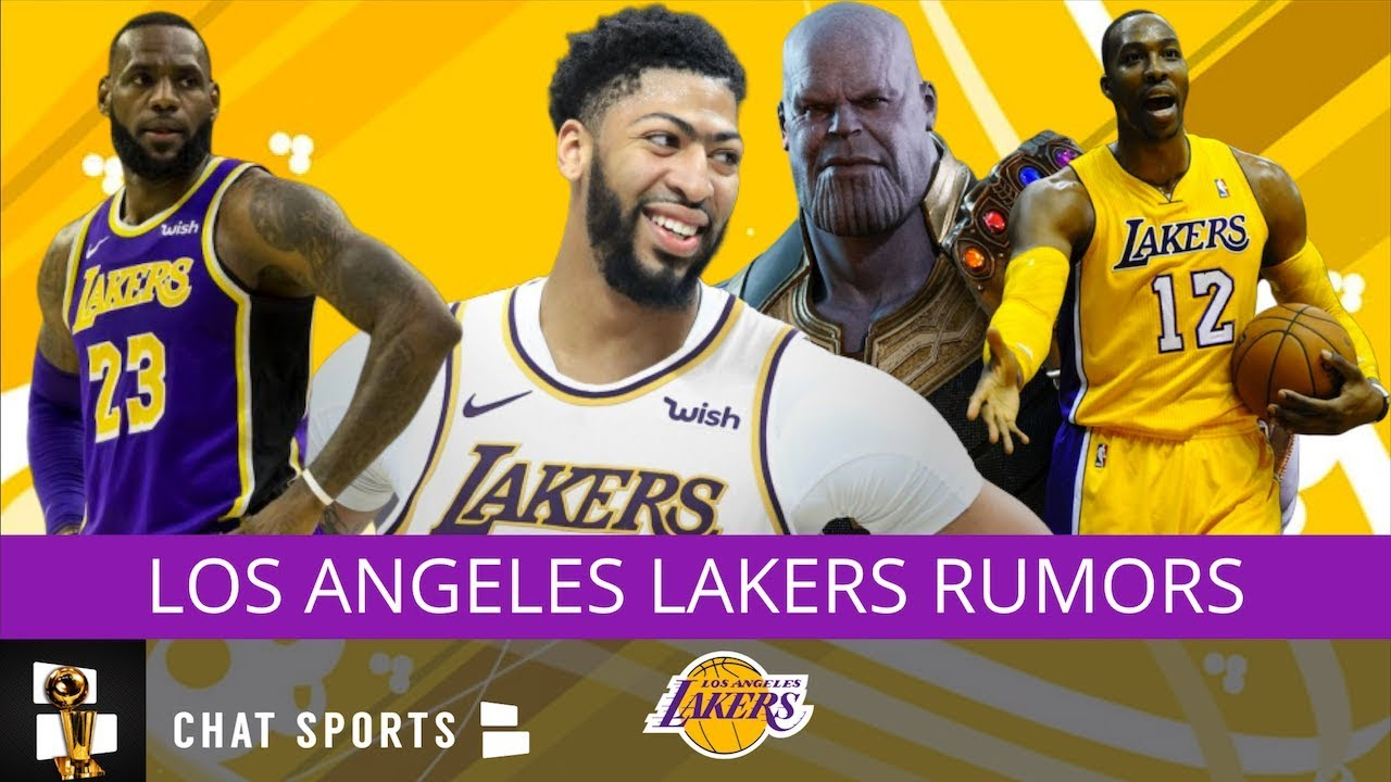 Lakers Rumors Anthony Davis For 2020 Dpoy Lebron James Not 1 Nba Player Dwight Howard Thanos