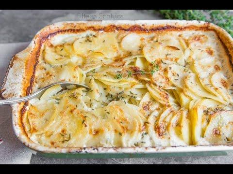 Easy Potato Gratin Recipe Side Dish Idea