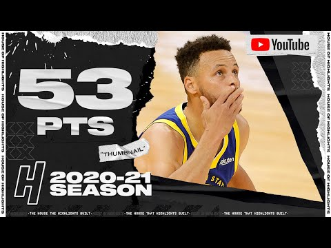 [Highlight] Stephen Curry HISTORIC 53 Points, 10 Threes Full Highlights vs Nuggets