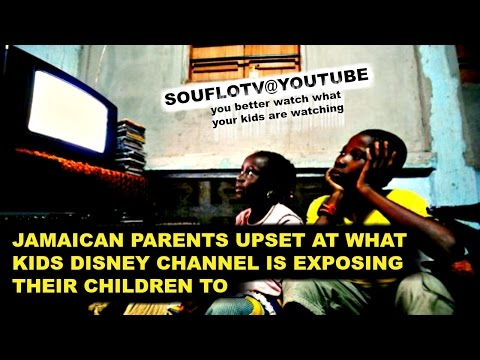 WHAT IS DISNEY SHOWING YOUR CHILDREN ? pay attention Jamaica