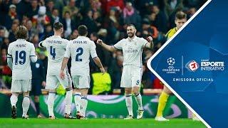 Melhores Momentos - Real Madrid 2 x 2 Borussia Dortmund - Champions League (07/12/2016)