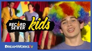Hayes Grier Afro Circus Challenge I RECORDSETTER KIDS