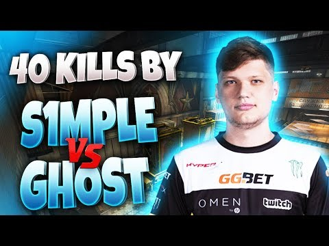 CS:GO - s1mple 40 frags vs Ghost @ EPL Finals S8