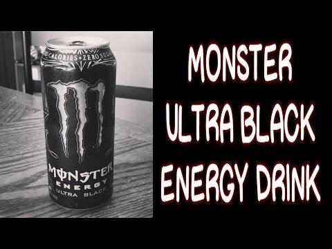 Monster Ultra Black Energy Drink #FoodPorn | FreakEating Review 38