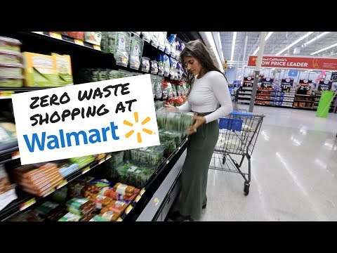 I Tried Zero Waste Grocery Shopping At Walmart...