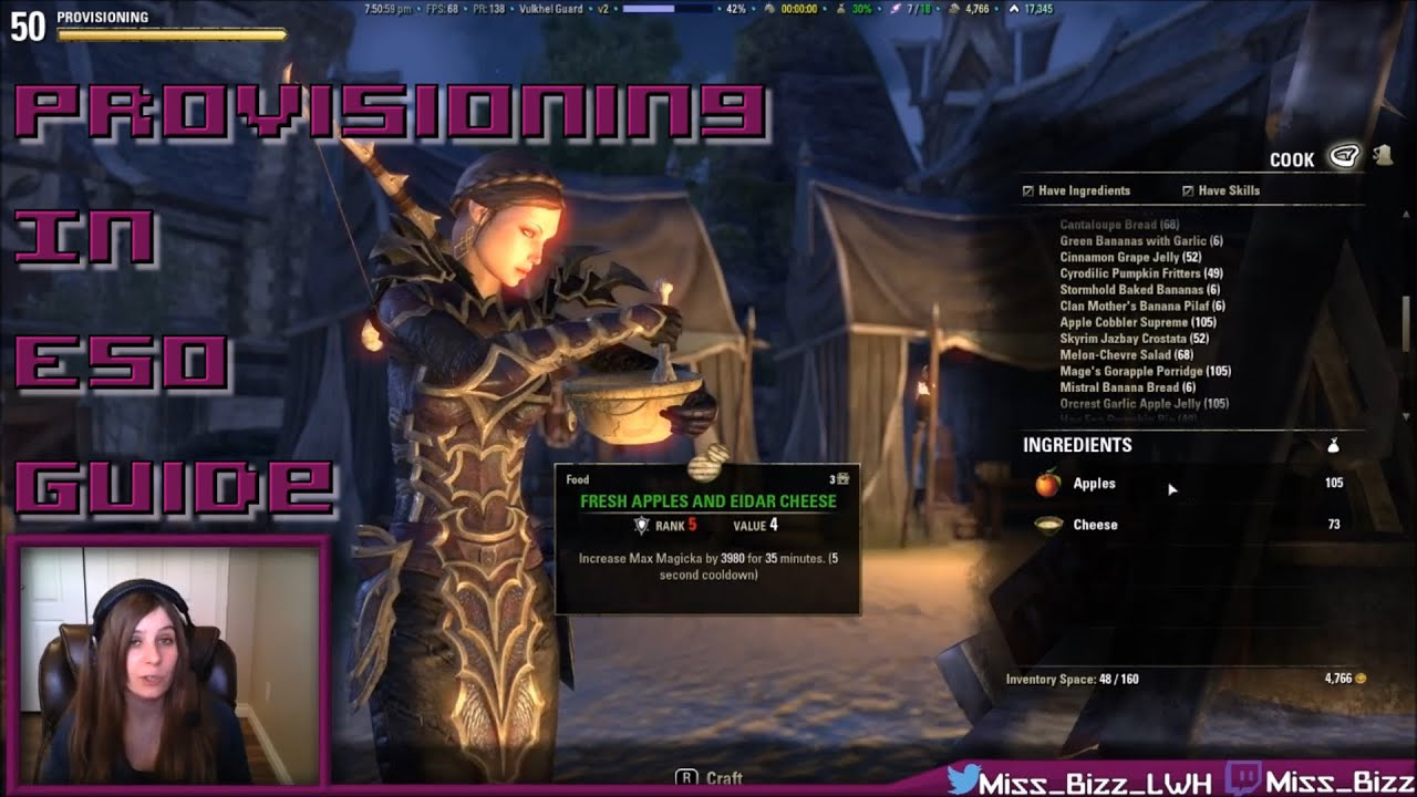 Eso provisioning guide how to cook in elder scrolls online eso provisioning guide how to cook in elder scrolls online updated guide in description youtube forumfinder Image collections