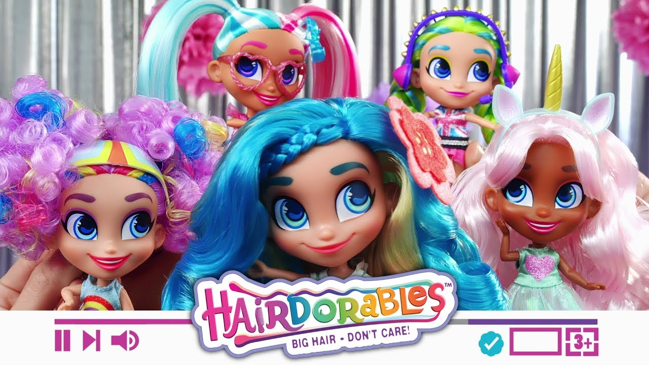 Hairdorables Series 1 Toy Commercial