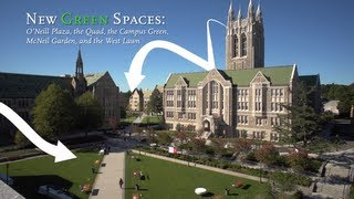Campus Upgrades: New Green Spaces