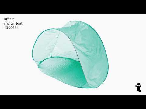 Flying Tiger Copenhagen Instructions - Shelter tent - 1300664