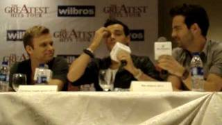 Recorded at The Greatest Hits Tour Live in Manila 2012 press confer...
