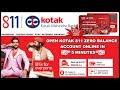 How to open Kotak 811 Zero Balance Account | Kotak Mahindra Bank | 2018