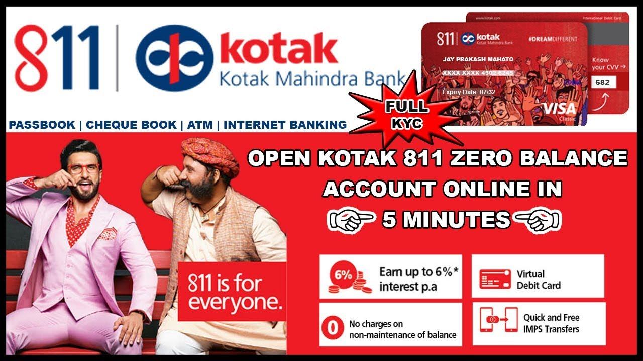 kotak mahindra bank 811 account net banking
