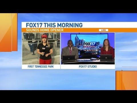 Fox17 8:00 a.m. news - Nashville Sounds home opener