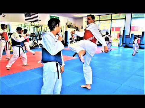 TaeKwonDO Kickboxing Kung Fu at Lima Academy in Carson Lomita Harbor City CA