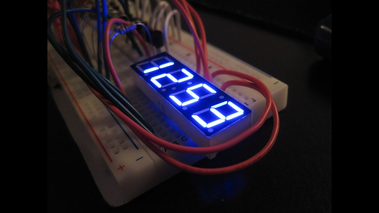 7 Segment Display Multiplexing Arduino With Code Youtube Spare Minutes You Can Verify The Operation Of Bcd To Sevensegment