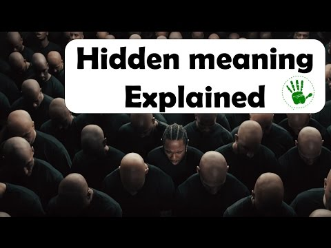 Hidden meaning | Humble | Kendrick Lamar