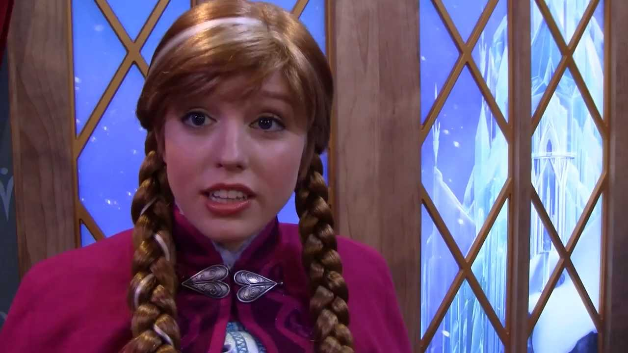 Frozens anna and elsa in our epcot adventures youtube m4hsunfo
