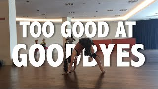 SAM SMITH: Too Good At Goodbyes - Contemporary Dance || Cover by Abigail Joann
