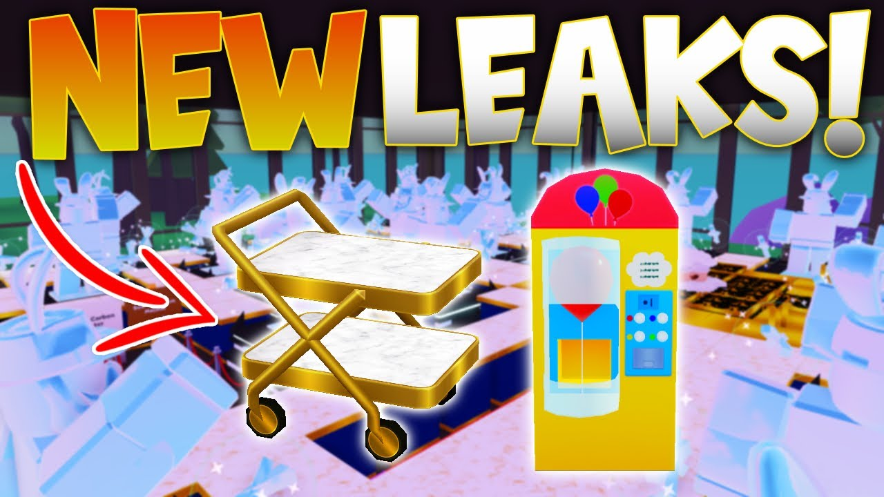 My Restaurant Roblox Leaks New Leaks Silverware Balloon Machine Customer More My Restaurant Roblox Youtube