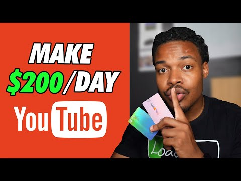 How to Make Money on YouTube without Making Videos | Side Hustle
