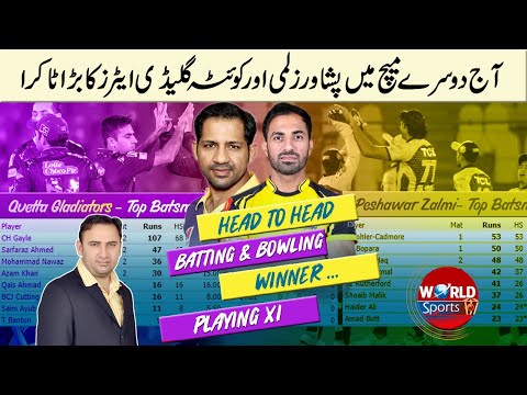 PSL today 2nd match   Peshawar Zalmi vs Quetta Gladiators   Points Table PSL 2021