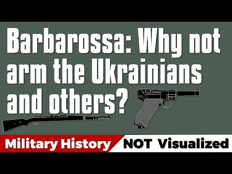 Why not just arm the Ukrainians and others in 1941? Operation Barbarossa #ww2 #barbarossa