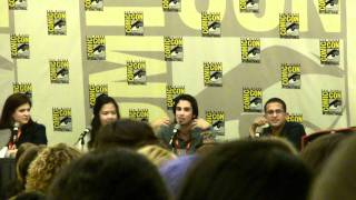 Joey Richter answering the Potter Threequel question (again) at Comic Con