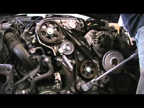 Audi A4 2 0t B7 Changing Timing Belt Doovi