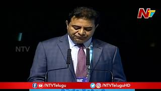 Telangana Minister KTR Speech At BioAsia Summit 2020 || Hyderabad || NTV