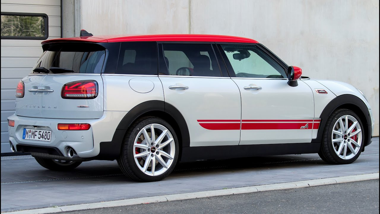 2019 Mini John Cooper Works Clubman A Hot Wagon With Barn Doors Youtube