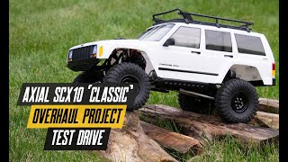 Axial SCX10 Overhaul - Test Drive