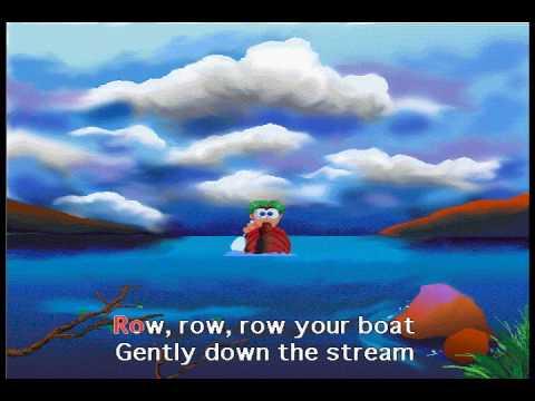 Row Row Row Your Boat Screen Singers Karaoke