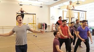 """Matt Doyle and More Offer a """"Cool"""" Preview of West Side Story"""