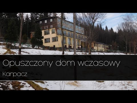 Opuszczony dom wczasowy