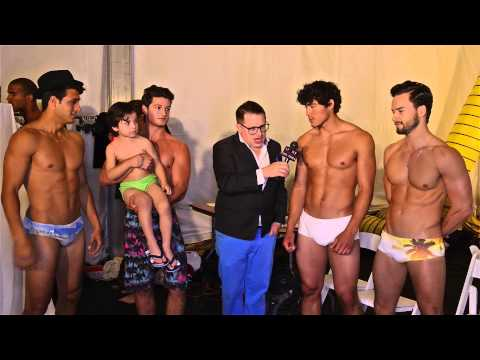 CaRioCa Male Swimsuit Models Backstage Style Fashion Week