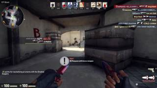CS GO WITH KNIFE!|КС ГО С НОЖАМИ!